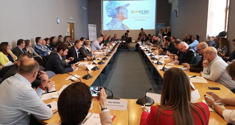 La CCI Rouen Métropole réunit les plus grands employeurs de la région autour de l'ECOSYSTEM CLEON 4.0