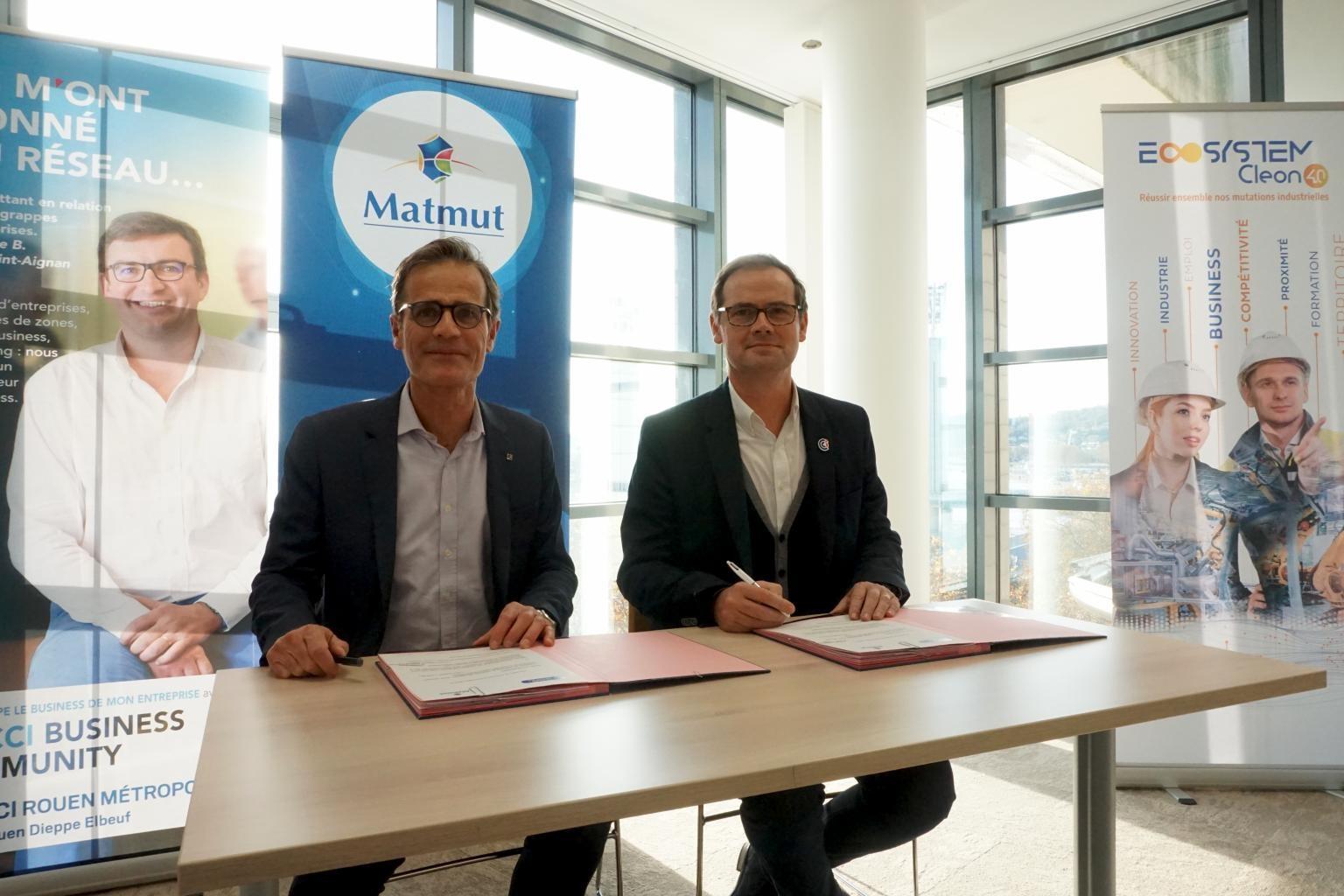Le groupe Matmut rejoint officiellement l'ECOSYSTEM CLEON 4.0