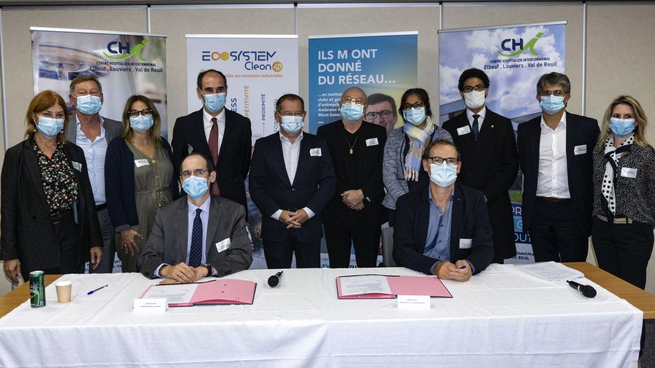 Le Centre Hospitalier Intercommunal Elbeuf, Louviers, Val-de-Reuil rejoint l'ECOSYSTEM CLEON 4.0