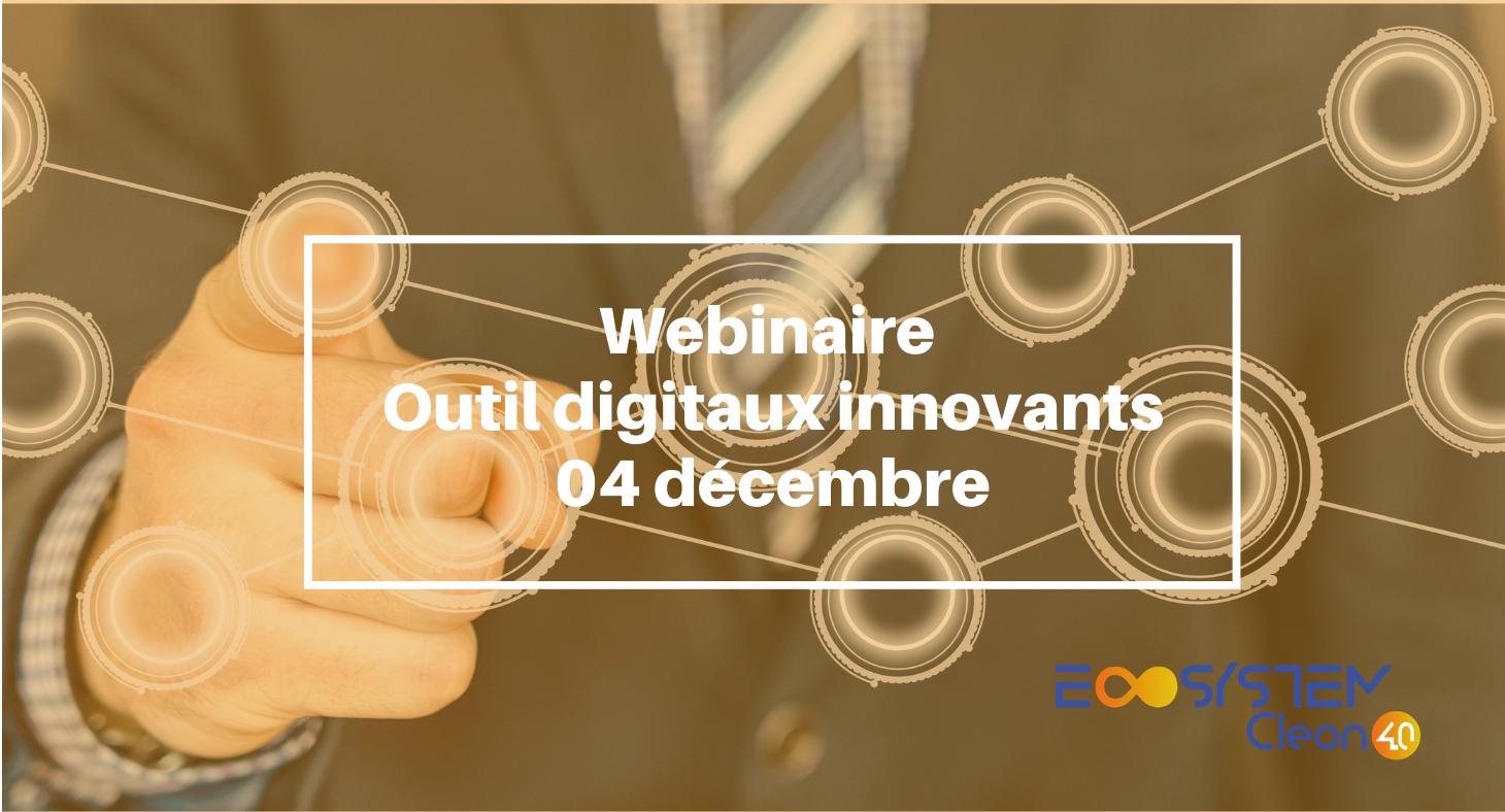 Groupe de travail Digitalisation – Outils digitaux innovants