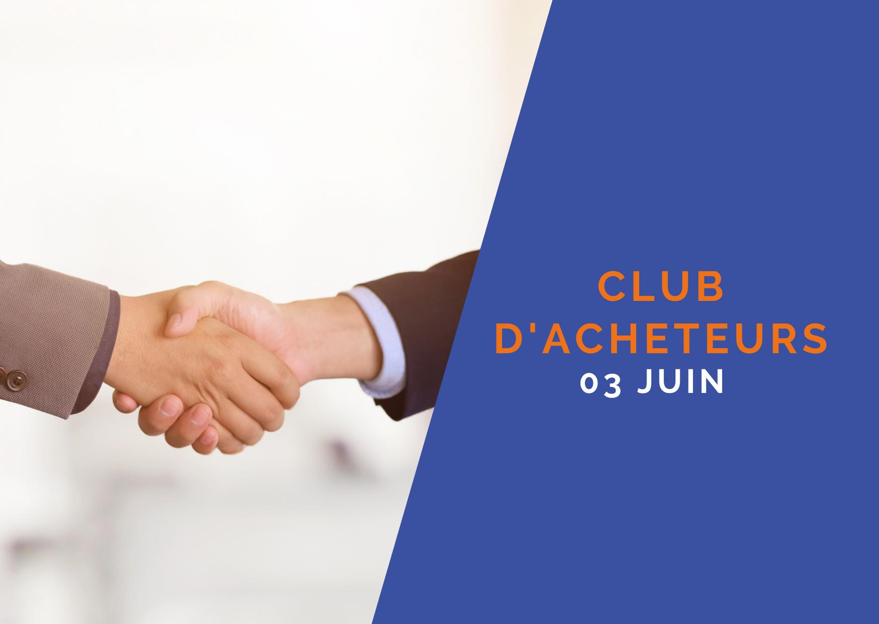 Club des Directions d'Achats – 03 juin